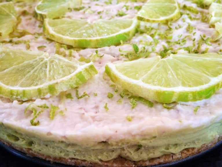 Raw Coconut Key Lime Pie (Nut Free!)