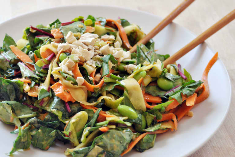 Raw Pad Thai Salad (Vegan & Gluten-Free!)