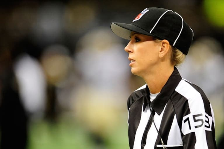 The NFL Is Finally Hiring Its First Full-Time Female Official