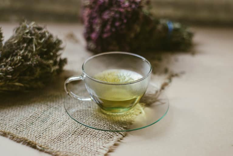 An Herbal Tea To Calm Your Skin