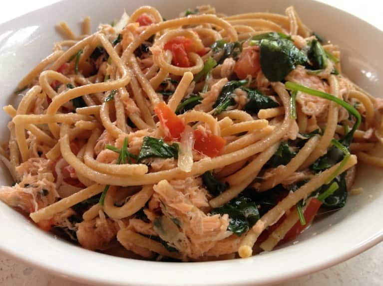 Get Your Omega-3s With This Smoked Salmon Pasta Recipe!