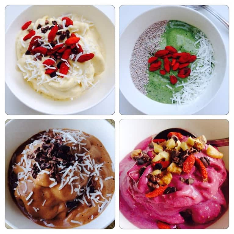 "4 ""Smoothie Bowls"" To Enjoy All Day!"