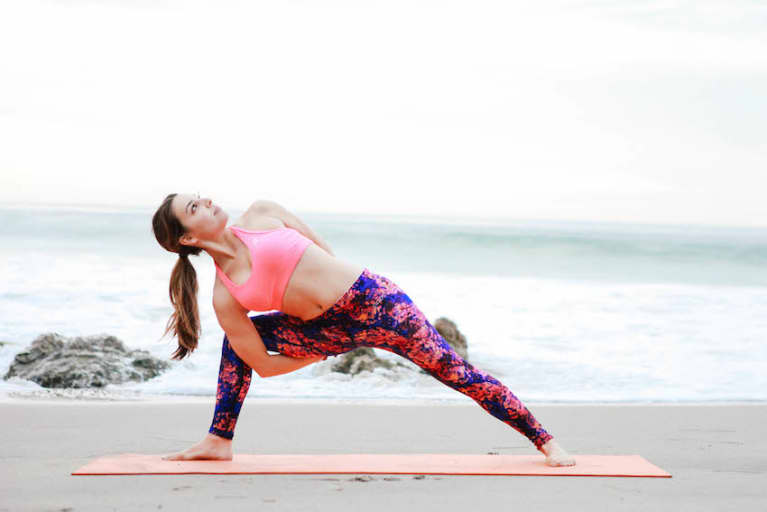 A Yoga Sequence To Spring Clean Your Mind & Body