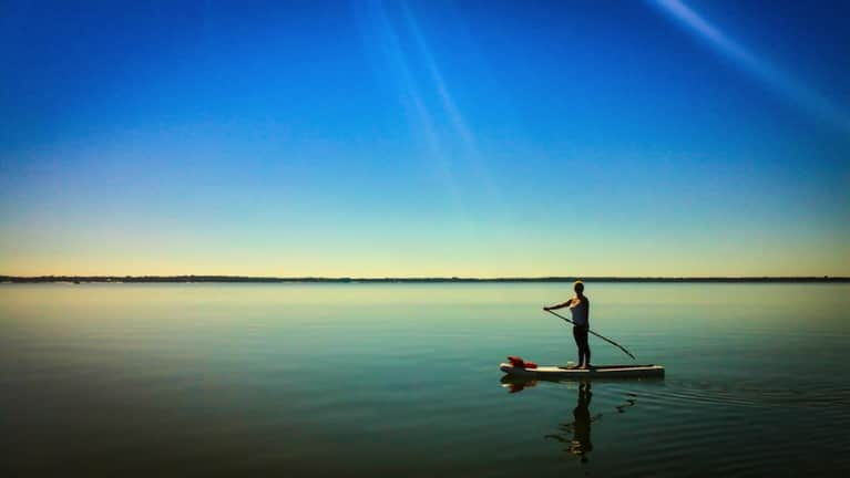 Love Yoga? Give Stand-Up Paddleboarding A Try!