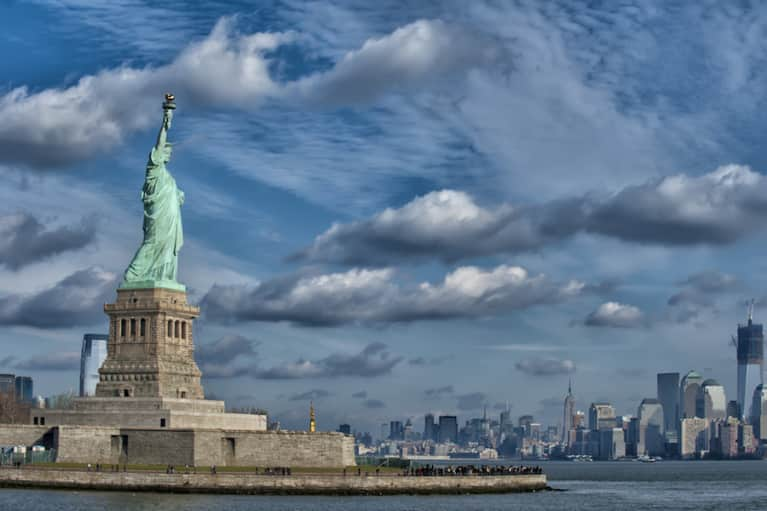 Climate Change Set To Destroy Statue Of Liberty, Other Landmarks