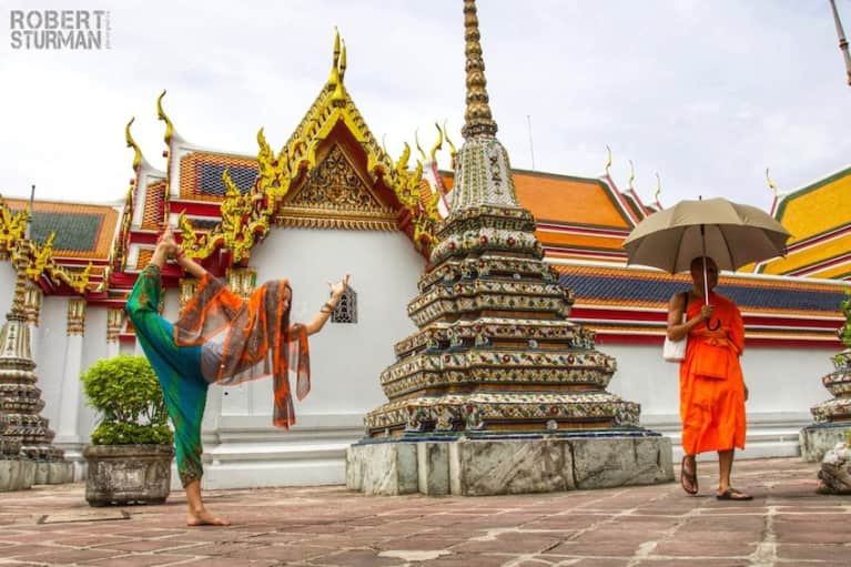 Yoga In Photos: Asanas At The Ancient Temples Of Thailand