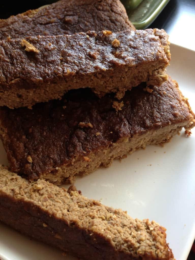 Gluten-Free & No Sugar Added Apple Pie Bread