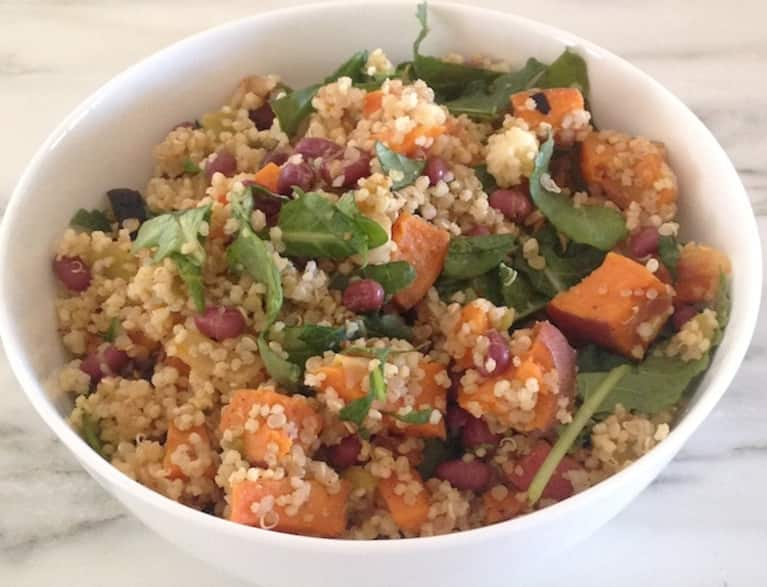 Sweet Potato & Adzuki Bean Pilaf