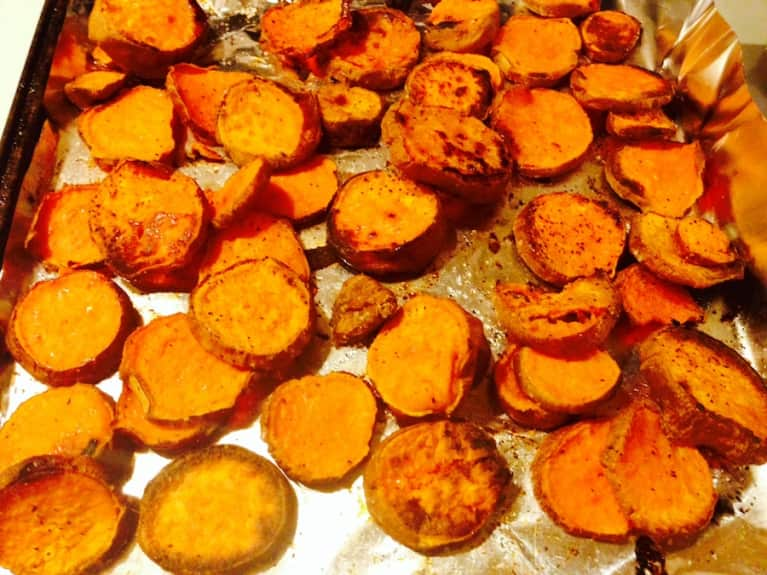 Simple Sweet Potato Fries For Super Bowl Sunday