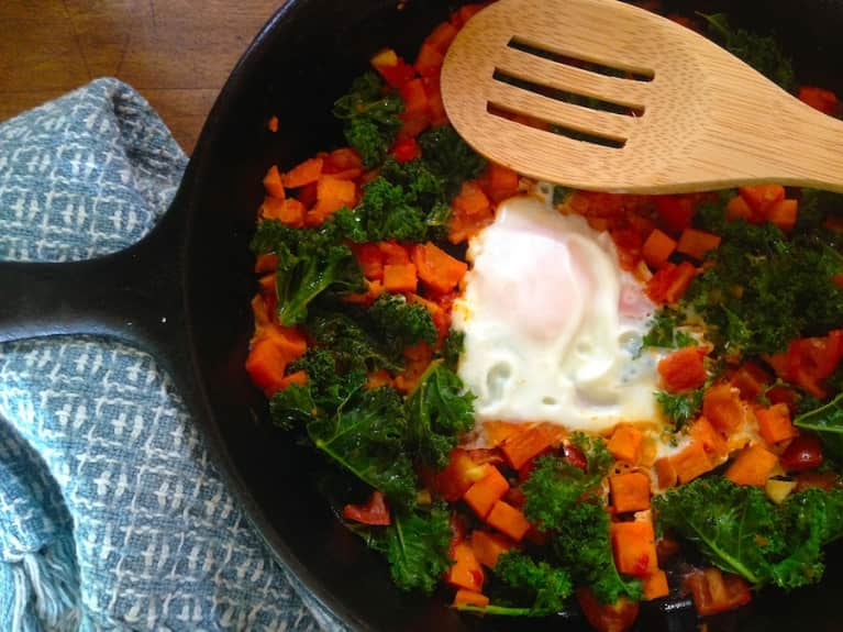 Sweet Potato & Kale Hash