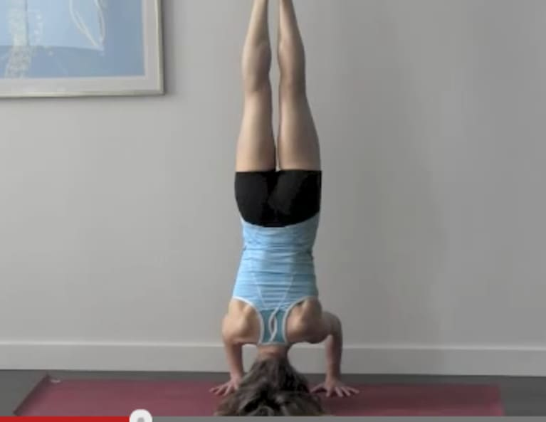 Why You Want To Start Doing Yoga Inversions Now
