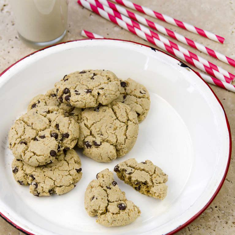 Unbelievably Vegan Vanilla Bean Chocolate Chip Cookies