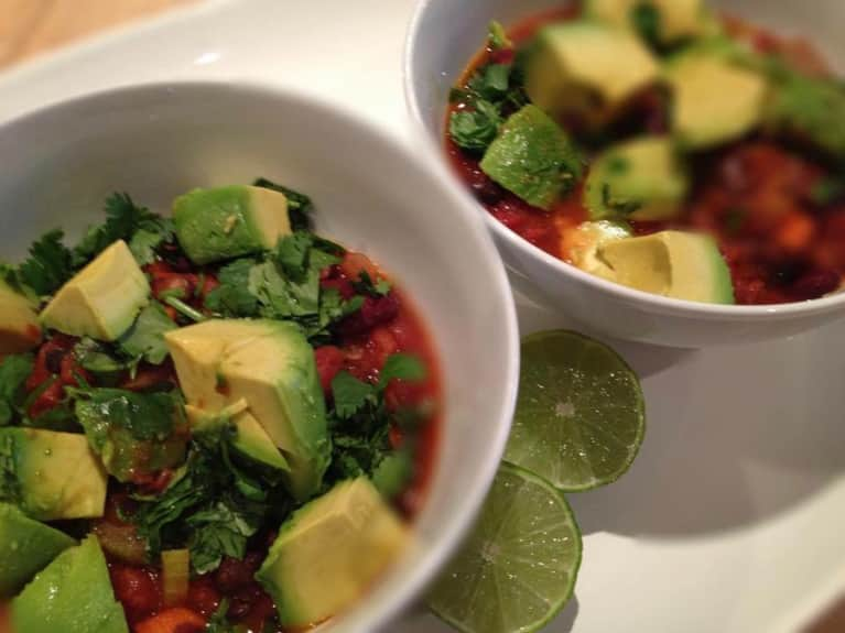 Vegan Recipe: Spicy Bean Chili