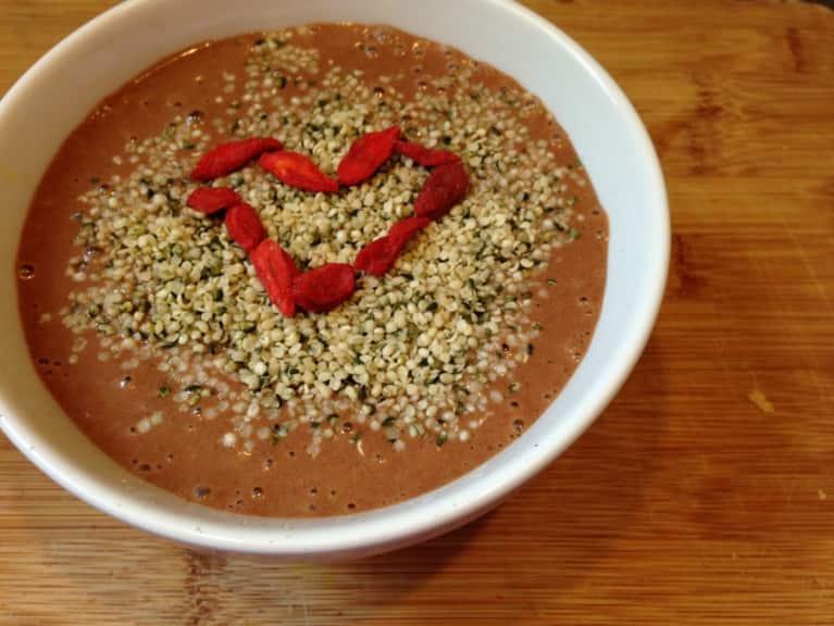 A Vegan Chocolate Shake That Will Make Anyone's Day