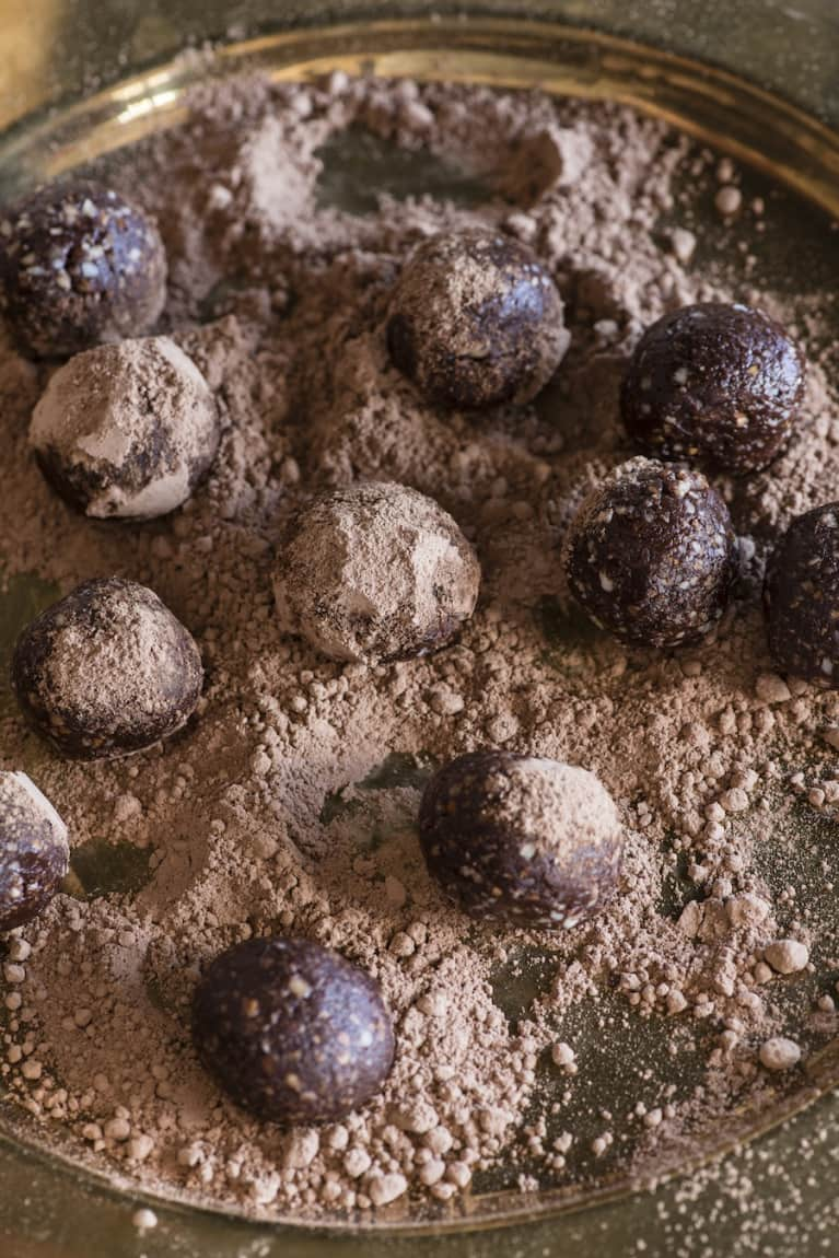 Vegan Chocolate Truffles (Oh, Boy!)