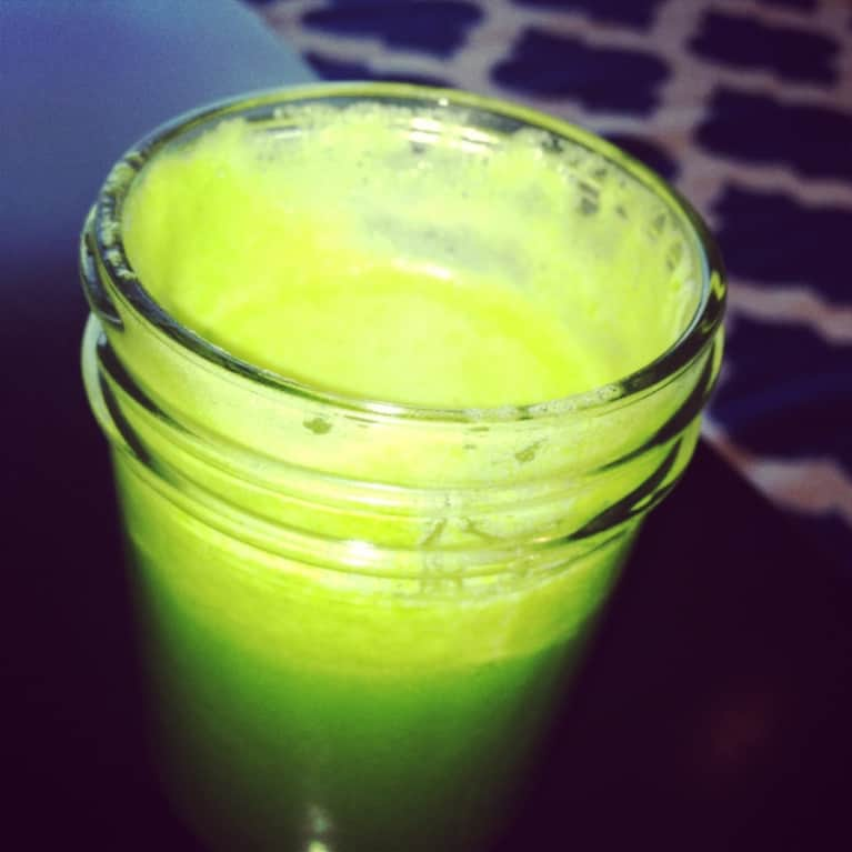 Step Away From The Coffee & Start Your Day With This Green Juice