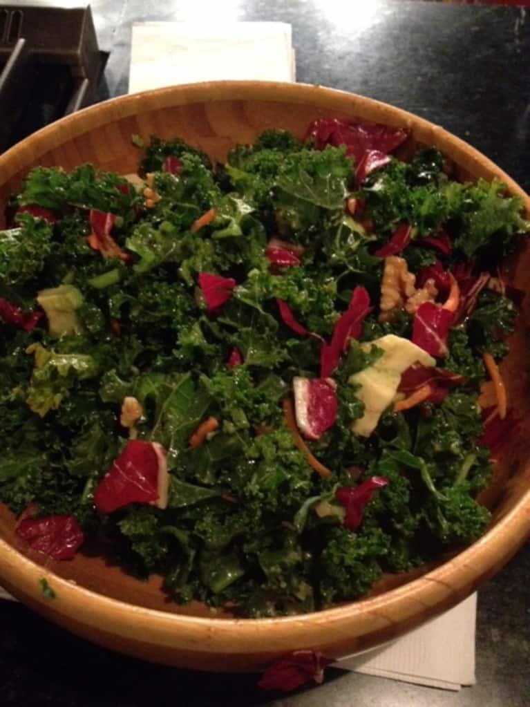 Warming Kale Salad With A Caribbean Twist