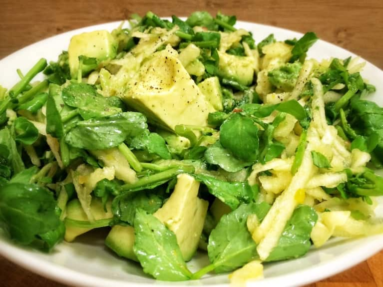 Watercress & Avocado Salad