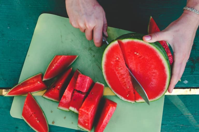 Stay Hydrated This Summer With This Watermelon Green Juice