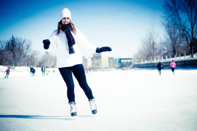 A Pre-Workout Warmup Video That's Perfect For Winter Sports