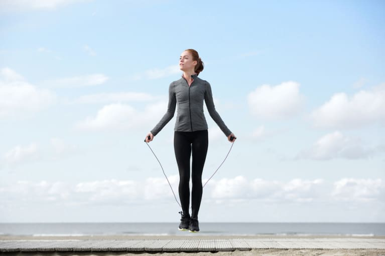 Skip Yourself Slim With 5 Jump Rope Exercises