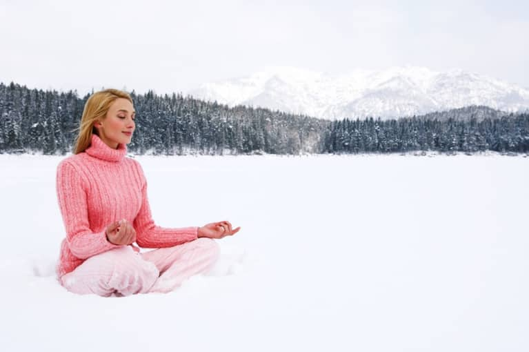16 Yoga Poses For A Happy Holiday Season