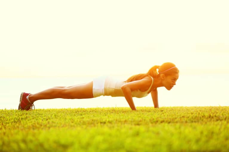 You CAN Do A Perfect Push-Up! Here's How