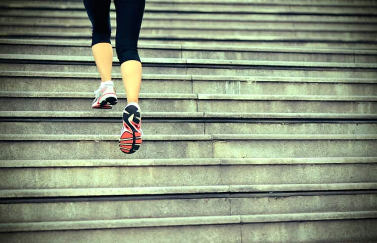 A 20-Minute Indoor Stair Workout (Video)
