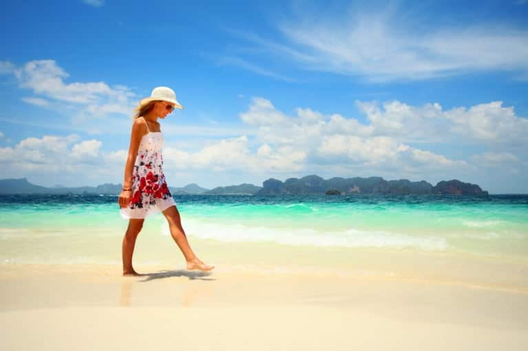 Want To Relax, Recharge & Heal Yourself? Go Barefoot!