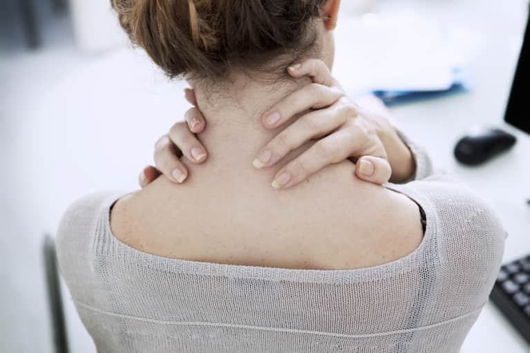 5 Simple Tension-Taming Stretches To Open Your Shoulders & Neck