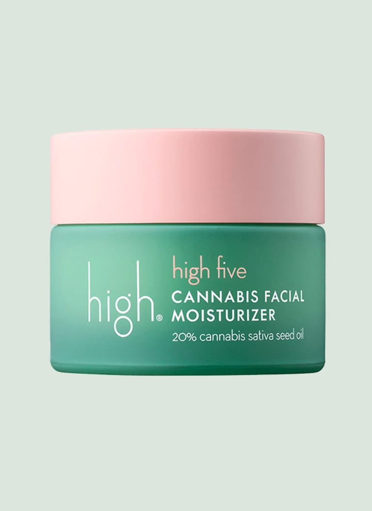 high beauty cannabis facial moisturizer