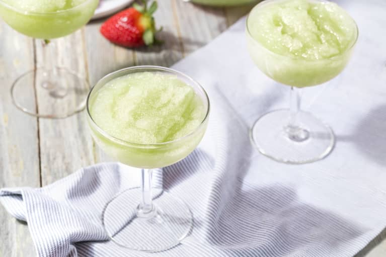 Frozen Green Slushies