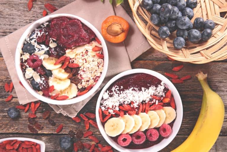 Gluten-Free, Açaí Breakfast Bowls