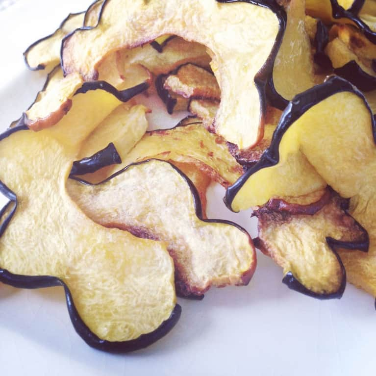 A Better Snack: Acorn Squash Chips