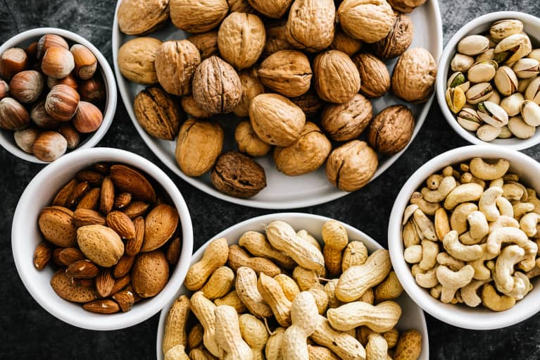 Eat These 8 High-Protein Nuts For Balanced Blood Sugar & More Energy