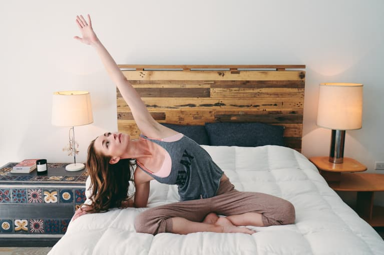 5 Morning Stretches You Can Do From Bed To Start The Day Clearheaded