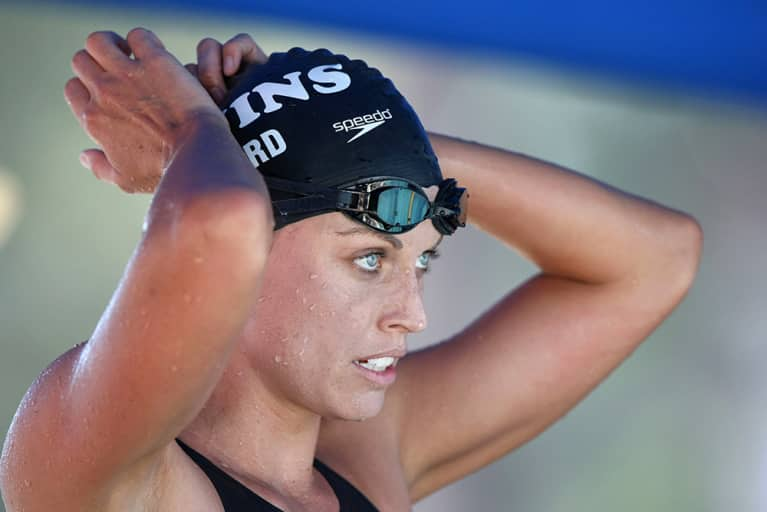 Olympian Amanda Beard On De-Stressing + Following Your Passion