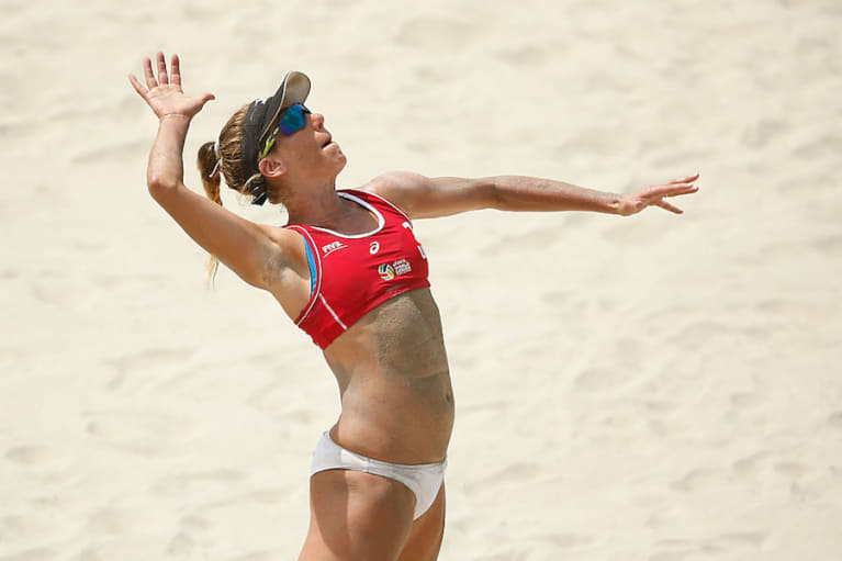 Olympic Medalist April Ross Says Going Vegan Actually Made Her Stronger
