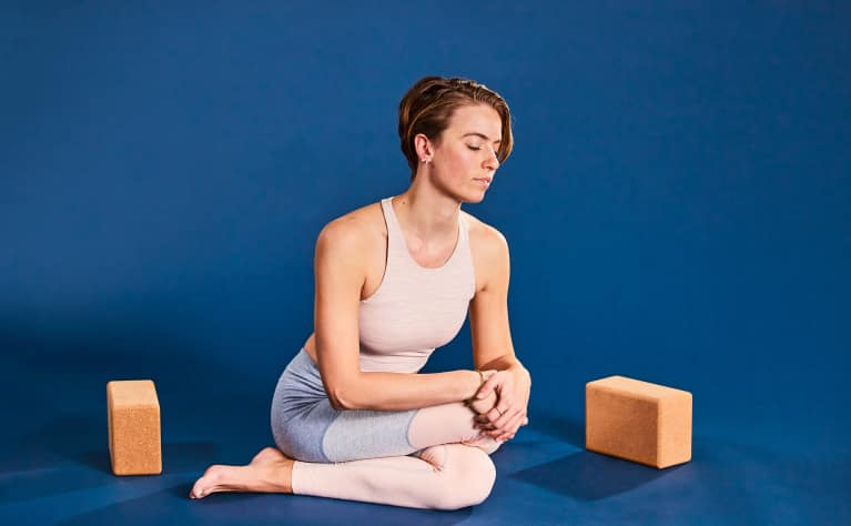 This Hip-Opening Pose Will Help You Release Stress & Anxiety