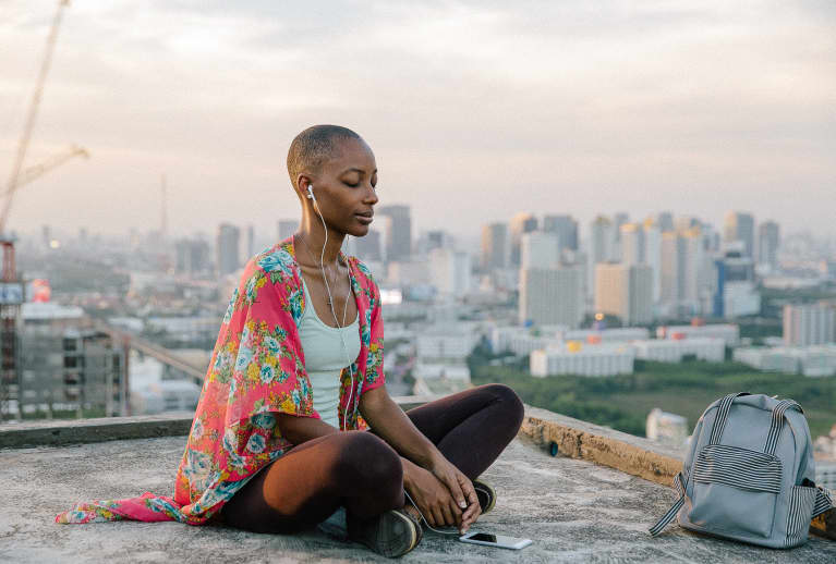 Try This 10-Minute Guided Meditation To Tune Inward & Release Stress