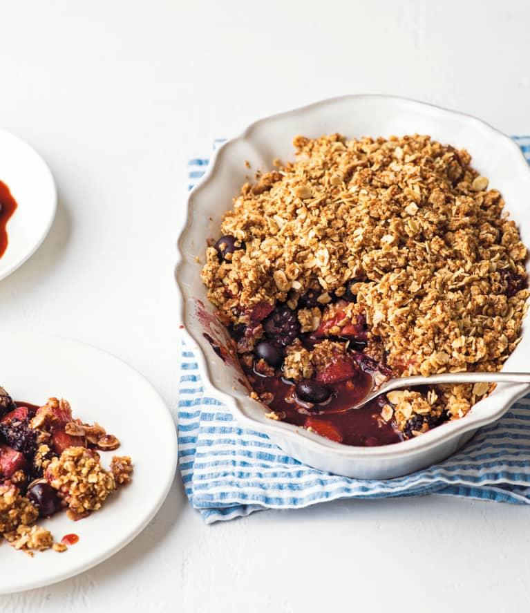 three berry crumble recipe