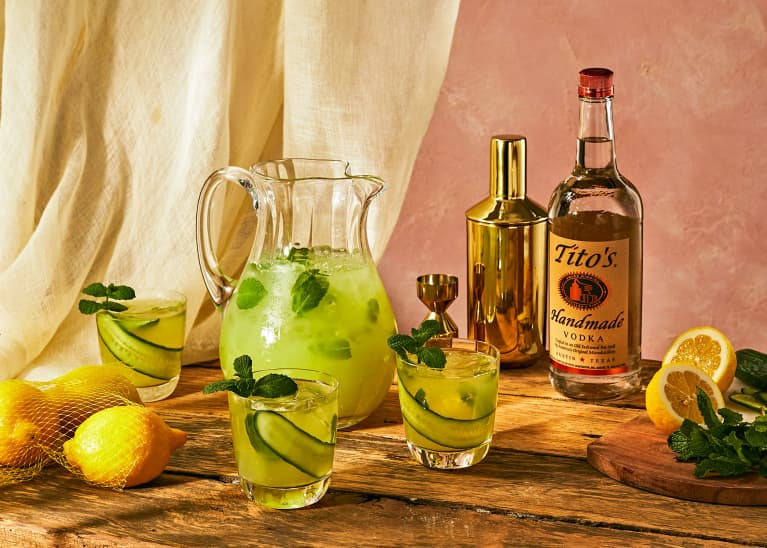 The Ultra-Refreshing Cocktail You'll Want at Every Outdoor Party This Summer