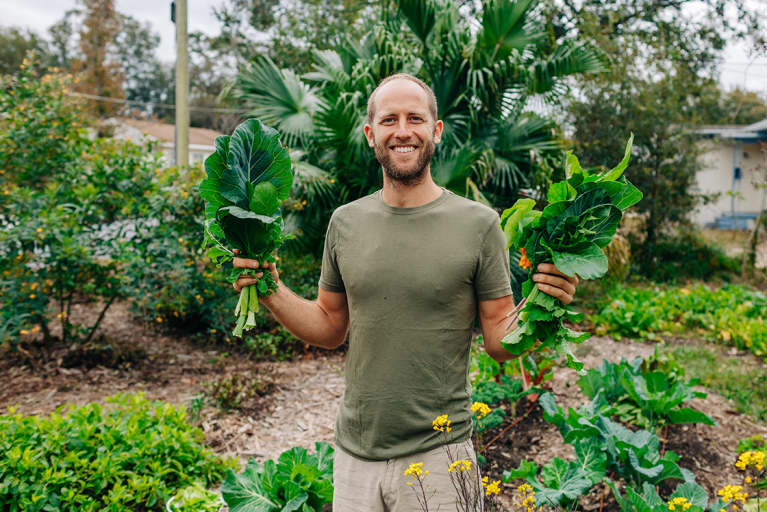 This Activist Is Growing 100 Percent Of His Own Food This Year For An Important Reason