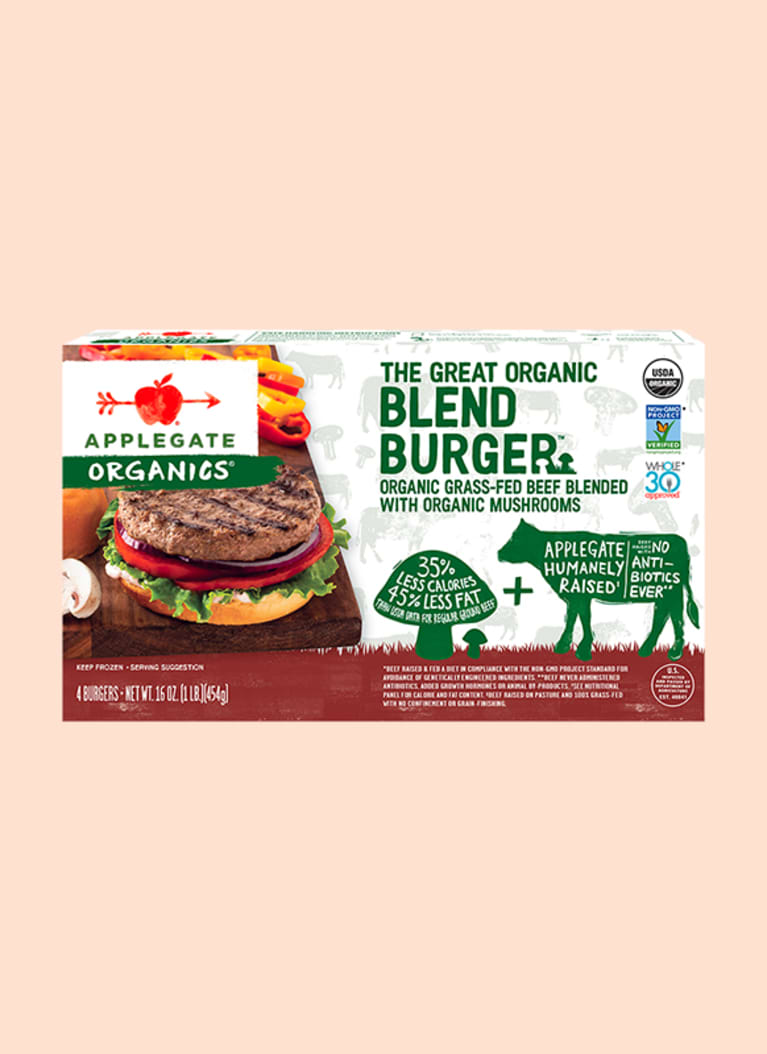 Applegate Organics® The Great Organic Blend Burger™ Beef Burger