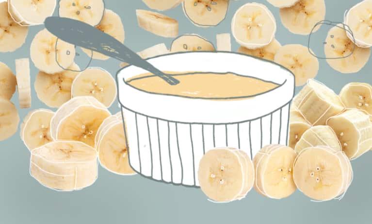 Another Reason To Eat Dessert For Breakfast: Banana Cream Custard