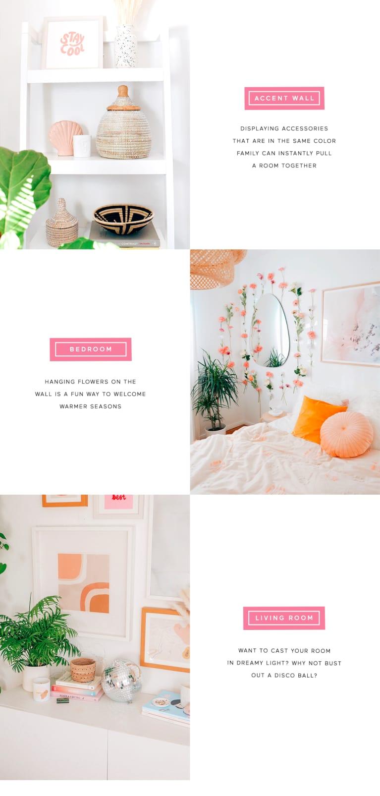 How to get Erika Carlock's interior design home look