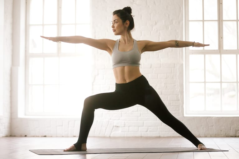 Have Hip Issues? Here's The Beginner Yoga Pose This Trainer Swears By