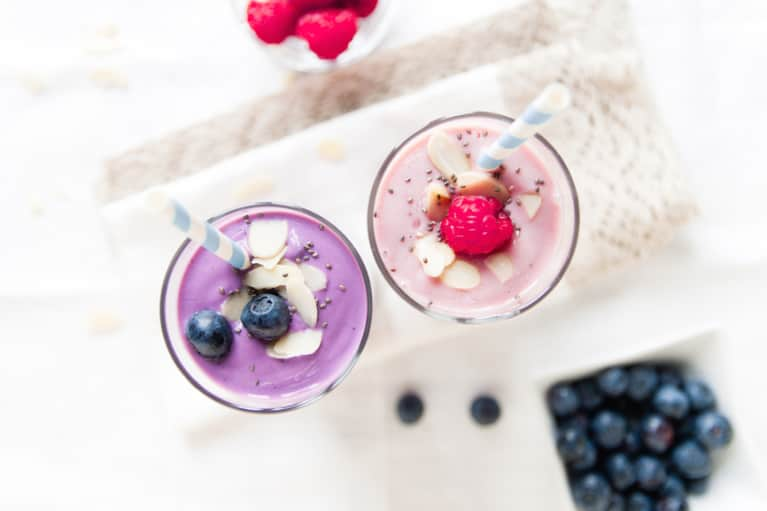 A Berry Smoothie To Kick Your Morning Off Right