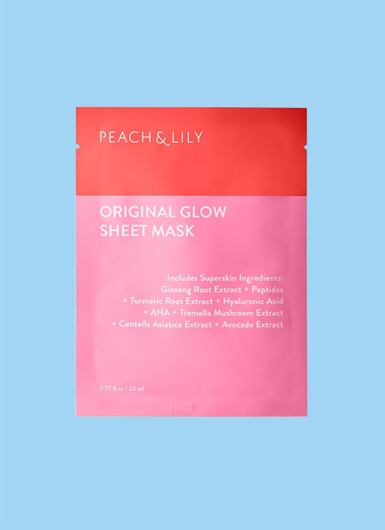 Peach & Lily Collection Original Glow Sheet Mask