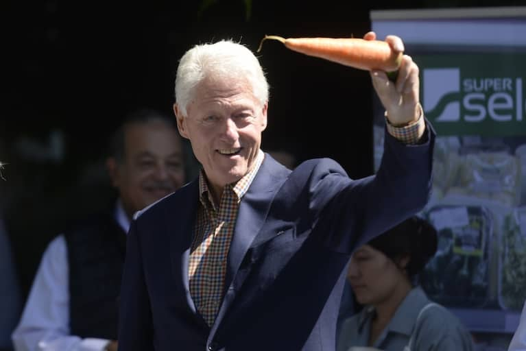 Bill Clinton Says Going Vegan Saved His Life